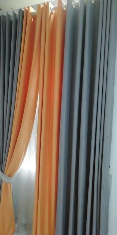 万祥窗帘墙纸韩式成品窗帘粉色公主温馨卧室客厅落地窗平面窗遮光窗帘特价
